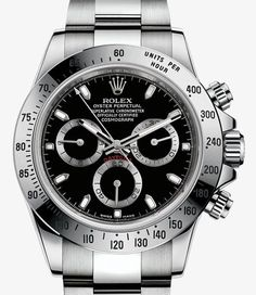 勞力士 (Rolex) [NEW+SPECIAL] Cosmograph Daytona 116520 Watch Steel in Black at HK$122,800.