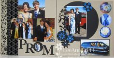 prom scrapbook layout ideas | My son Isaac and his friends had a wonderful time. He is a junior in ...