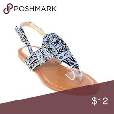 Women Black Slingback Thong Flat Sandals S1991 Women black thong flats sandals. Perfect for walks on the beach. If you are taking a vacation, these sandals will show everyone that you know fashion! Victoria K Shoes Sandals