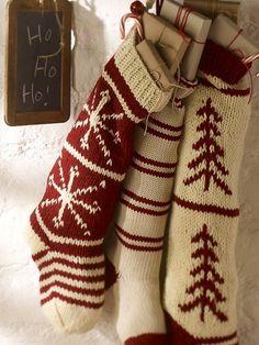 2010 Pottery Barn Stockings