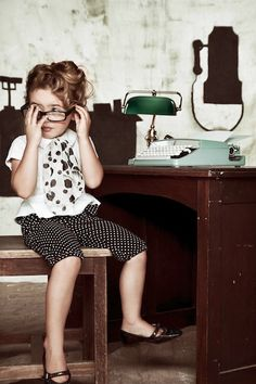 lil' secretary..   candice lee robinson photography