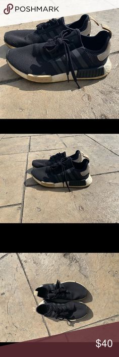 Adidas nmd r1 triple white Women's au size 7 and Depop