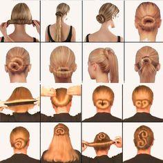 Magic DIY Hair Bun Maker