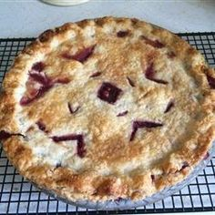 Hands down my favourite Saskatoon pie recipe! I use this one every time and it never disappoints! -DC