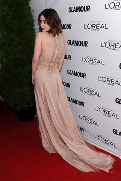 Lily Collins - Stars at the Glamour Honors the Women of the Year