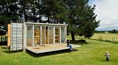 projeto pequeno de casa container