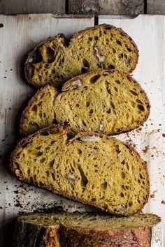 spiced carrot walnut bread