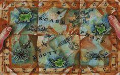 Monkey Island 2 TriIsland Map Cross Stitch by ServoStitches, $6.00