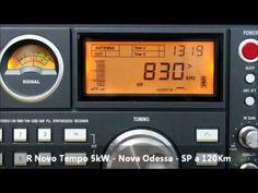 TECSUN S-2000 usando antena RGP3-OM