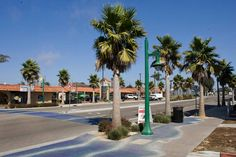 An improved portion of West Grand Avenue in Grover Beach.