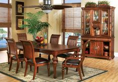 Cindy Crawford Home Key West Tobacco 5 Pc Rectangle Dining Room with Slat Chairs.999.99. 5Pc Set includes Side Chair(4) & Leg Table. Find affordable Dining Room Sets for your home that will complement the rest of your furniture. #iSofa #roomstogo