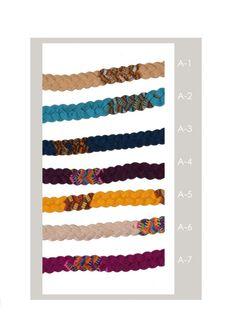Boho Headbands Guatemalan headband Colorful by IKALAoutfitter