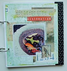 Me, With My Head in the Clouds: Recent Art Journaling Pages