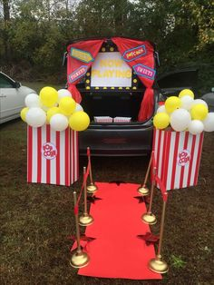 100 Awesome Trunk or Treat Ideas You Must See - Home Faith Awesome Trunk or Treat Ideas You Must See - Home Faith Familymovie theatermovie theatertrkidfriendly kidfriendly vanstrunk halloween decorate trkidfriendly kidfriendly vanstrunk halloween Holidays Halloween, Halloween Treats, Fall Halloween, Happy Halloween, Halloween Party, Halloween 2019, Trunk Or Treat, Movie Themes, Party Themes