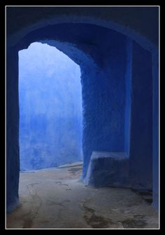 sweetvillage:    Passage in Chefchaouen, a photo from Tetouan, North | TrekEarth