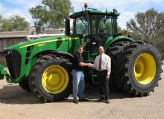 john deere tractors pictures   Tractor John Deere 8530 (Inmaculado)