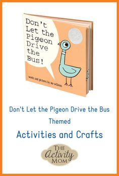 Birds Landing Hunting Preserve, Bird Preschool Activities, - Are Pigeons Edible, Chicks Dig Me. Fall Preschool, Preschool Themes, Alphabet Activities, Activities For Kids, Pigeon Books, Hungry Caterpillar Craft, Bus Crafts, Rhyming Games, Mo Willems