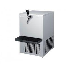 Tanque Vertical Enfriador de Cerveza TE-30 Coreco. Exterior en acero inox. Cuba interior en fibra de poliester. Serpentín enfriador. Motor agitador interior