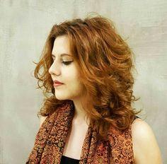 Wavy hair,; natural Hair; wavy cut; wavy; Haircut; ruiva; ginger; ondulada; cabelo ondulado; repicado