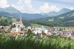 Vue sur la ville de Châtel-St-Denis St Denis, Switzerland, Tourism, Dolores Park, Mountains, Holiday, Nature, Travel, Tatoo