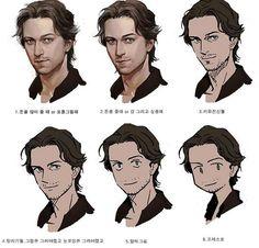 Super hair drawing tips manga Ideas Digital Painting Tutorials, Digital Art Tutorial, Art Tutorials, Character Concept, Character Art, Concept Art, Art Reference Poses, Drawing Reference, Drawing Expressions