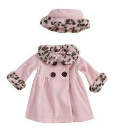 Details about Baby Girl Newborn Winter Hoo s Ruffles