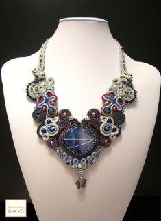 Girocollo ALINA by Maria Durys Jewelry, Fashion, Italia, Moda, Jewlery, Jewerly, Fashion Styles, Schmuck, Jewels