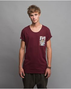 Ziv Pocket T-Shirt - Ziv Pocket Tee is a limited edition of 50 items in three different color ways. Tees have slim fit with wide neck line and a chest pocket that fits some random small stuff.