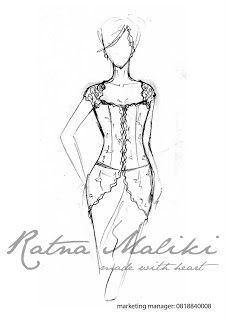 Rancangan Kebaya Modern Lengan Pendek Kebaya Lace, Batik Kebaya, Kebaya Dress, Batik Dress, Fashion Design Drawings, Fashion Sketches, Wedding Dress Drawings, Model Kebaya Modern, Fashion Drawing Tutorial