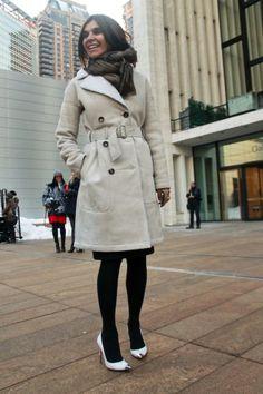 Carine Roitfeld New York Fashion Week Fall 2013 Street Style, Part 2 | KENTON magazine