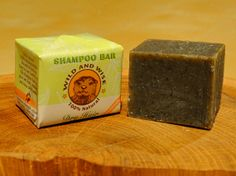 Dry Hair Shampoo Bar Shea Butter Herbal shampoo by WildandWiseSoap, $8.00