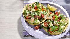 Shrimp and Avocado Tostadas Recipe