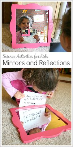 Science Activities for Kids: Exploring Mirrors and Reflections~ BuggyandBuddy.com