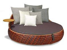 GARDEN BED DALA LOVESEAT DALA COLLECTION BY DEDON | DESIGN STEPHEN BURKS