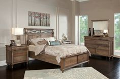 Madison Bedroom Set by Conrad Grebel