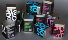 Leticia Sáenz Tea Sommelier packaging designed by LeoLab