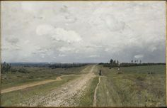 Vladimirka Road, por Isaak Levitan. (1892)