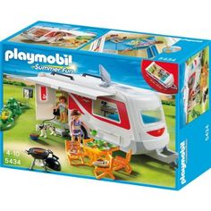 Playobil Summer Fun 5434 Travel Trailer Camper Family Caravan - to get T ready for camping?