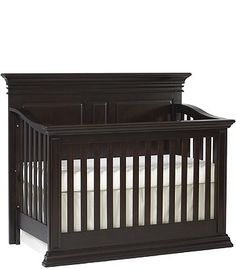 Love this crib. Wish I could see it in person.  Baby Cache Vienna Lifetime Convertible Crib - Espresso, exclusive to babies r us. $499.99.
