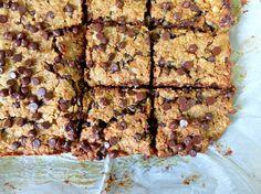 Chickpea Chocolate Peanut Butter Oatmeal Bars