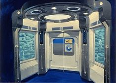 Though they actually took you nowhere, the Hyrdolators were small compartments meant to simulate elevators that dropped below the surface of the oceans to reach Seabase Alpha. The effect was produced with a floor that shook, a ceiling that looked as if you were looking up to miles of ocean above you, and a moving rock wall that was combined with a bubbler to produce the effect of moving quickly down a rock tunnel to the base.