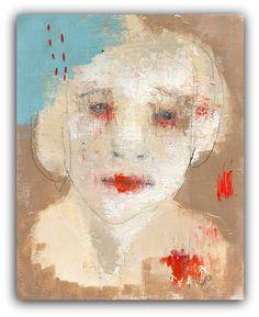 B R O K E N https://www.etsy.com/listing/158355807/original-portrait-painting-acrylic-mixed?ref=shop_home_active