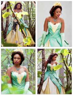 Jennifer Hudson, as Princess Tiana, is photographed by Annie Leibovitz for Disney Parks