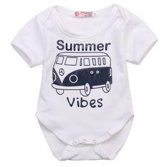 Summer Vibes Baby Bodysuit