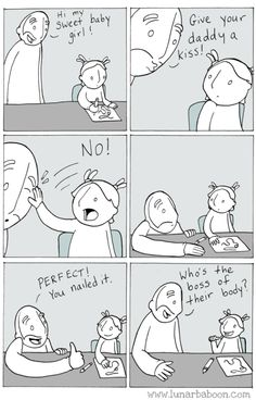 Lol good because it's feminist, bad because it condones violence.still hilarious. Memes Humor, Funny Memes, 9gag Funny, Funny Videos, 4 Panel Life, Life Comics, Education Positive, Music Education, Health Education