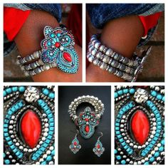 Checkout this amazing product Stretchy Multi-Color Paisley Style Bracelet at Shopintoit