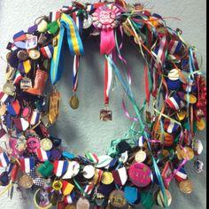 Fiesta San Antonio wreath from Madison's Salon. Viva Fiesta!