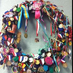 Fiesta San Antonio wreath from Madison's Salon. Viva Fiesta!