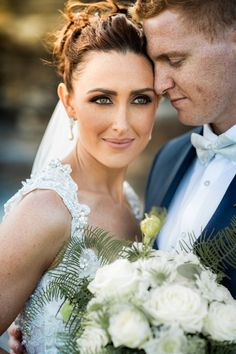 Smokey eye wedding makeup. #summerwedding #smokeyeyes #makeup #bridalmakeup #flowers #whiteflowers #sunset #sunsetwedding #realbride #weddingmakeup #bride #weddingphotography #bluesuit #groom #brideandgroom #wildflowers #weddinginspo