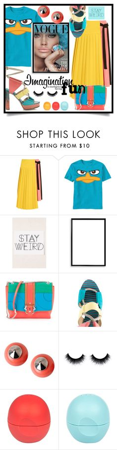 """""""Why so Serious?"""" by wuteringheights ❤ liked on Polyvore featuring Marni, Urban Outfitters, Bomedo, Paula Cademartori, Jimmy Choo, First People First and River Island"""